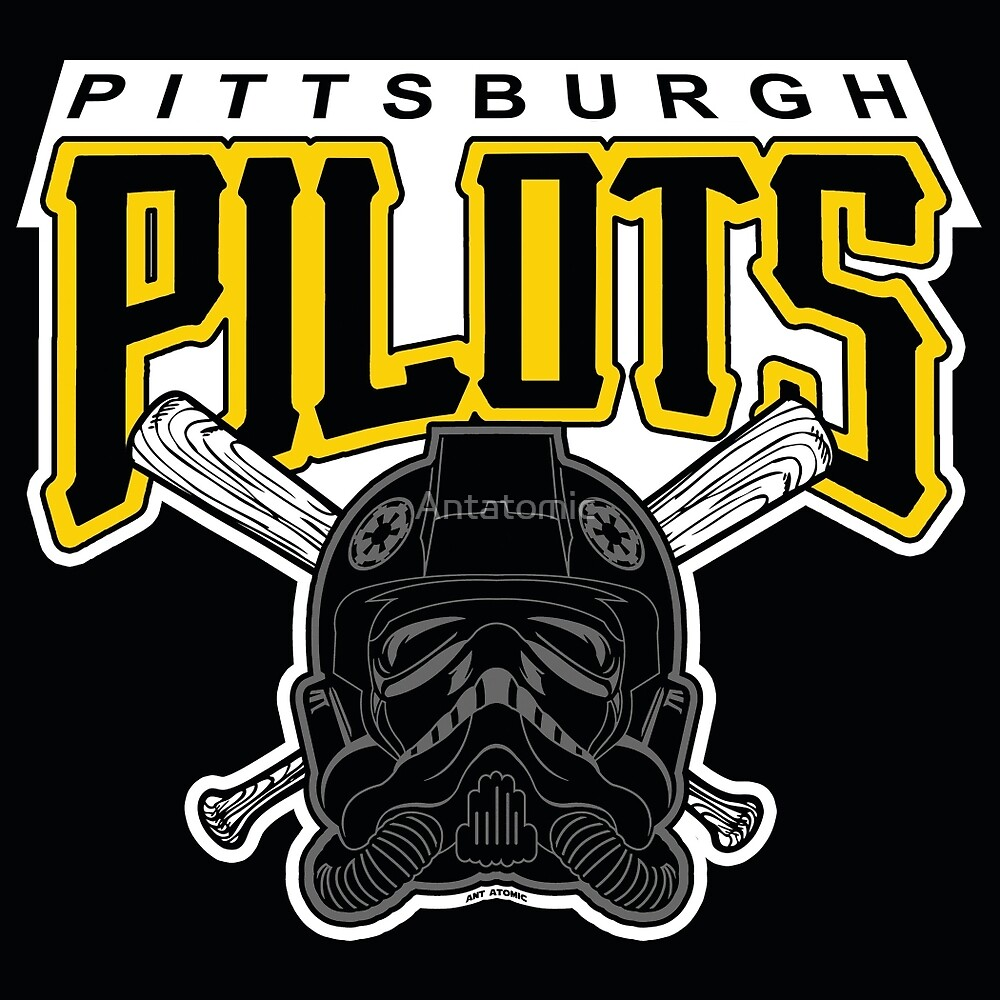 Pittsburgh Pilots by Antatomic