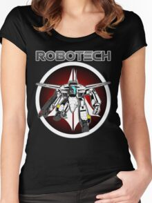Robotech guardian Women's Fitted Scoop T-Shirt