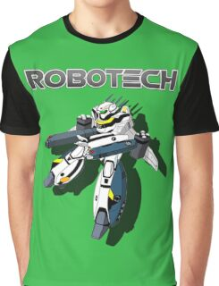 Robotech Valkyrie by Z4knafein Graphic T-Shirt