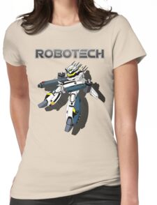 Robotech Valkyrie by Z4knafein Womens Fitted T-Shirt