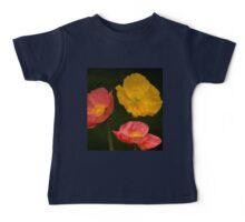 3 poppies Baby Tee