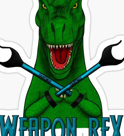 Weapon Rex Sticker