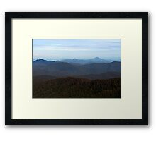I Can See for Miles and Miles Framed Print