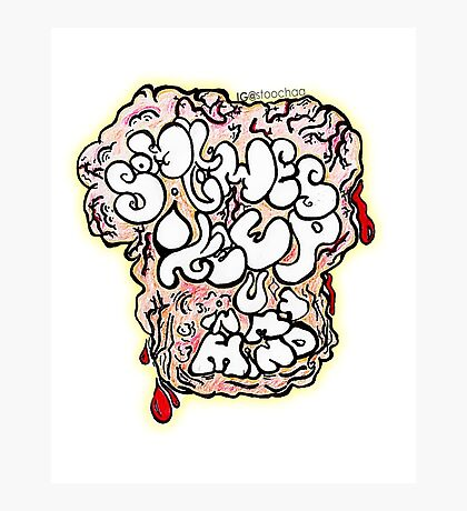 Nice Brain Photographic Print