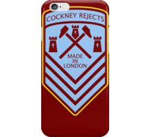 Cockney Rejects Made In London iPhone Case/Skin