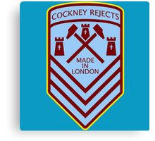 Cockney Rejects Made In London Canvas Print