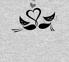Cats in love design Unisex T-Shirt