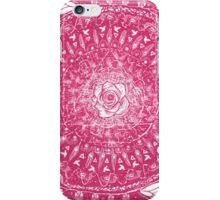 Rose Mandala Hot Pink iPhone Case/Skin