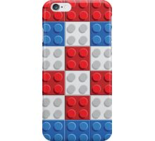 Croatia flag lego pattern of plastic parts iPhone Case/Skin