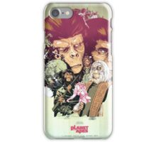 Planet of the Apes Poster iPhone Case/Skin