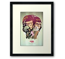 Planet of the Apes Poster Framed Print