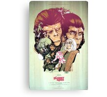 Planet of the Apes Poster Canvas Print