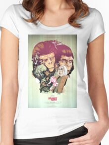 Planet of the Apes Poster Women's Fitted Scoop T-Shirt