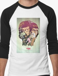 Planet of the Apes Poster Men's Baseball ¾ T-Shirt