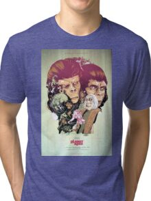 Planet of the Apes Poster Tri-blend T-Shirt