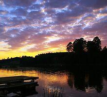 Shattering Dawn by KAt-dan-Painter