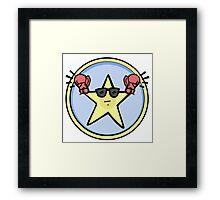 Fight Star Framed Print