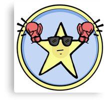Fight Star Canvas Print