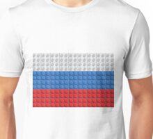 Lego - Russia flag pattern of plastic parts Unisex T-Shirt