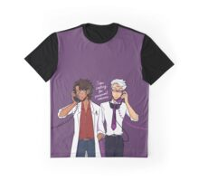 Calling for Personal Reasons Graphic T-Shirt