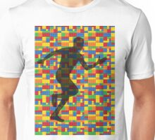 Lego - human body - running man  Unisex T-Shirt