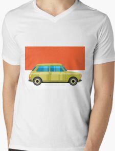 Mini Cooper - pop art car Mens V-Neck T-Shirt