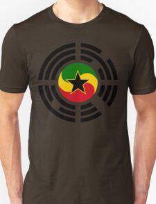 Korean Ghanaian Multinational Patriot Flag Series T-Shirt