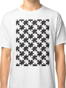 chess puzzle vector Classic T-Shirt