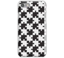chess puzzle vector iPhone Case/Skin