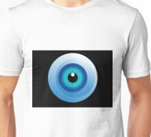 human eye design Unisex T-Shirt