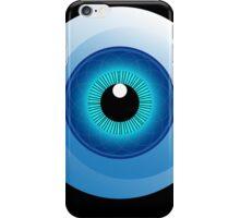 human eye design iPhone Case/Skin