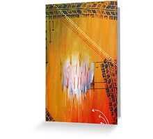 Caught in Time and Traffic Greeting Card