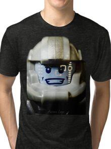 Lego Galaxy Trooper minifigure Tri-blend T-Shirt