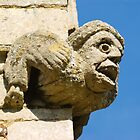 Medieval Carved Grotesque by Kawka