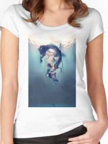 Spirited Away Women's Fitted Scoop T-Shirt