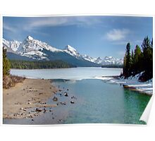 Maligne Lake, Canada (please view large) Poster
