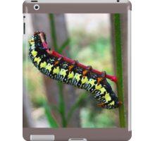 Caterpillar's Lunch - Macro iPad Case/Skin