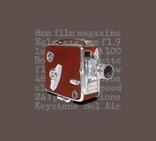 Vintage Keystone Bel Air Movie Camera Unisex T-Shirt
