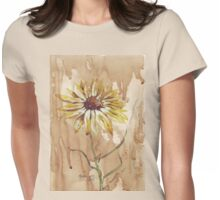 Helianthus (sunflower) Womens Fitted T-Shirt