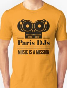 Music Is A Mission T-Shirt