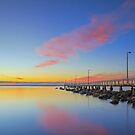 Pink Dawn - Wellington Point Qld Australia by Beth  Wode