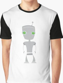 Fibercon cute robot Graphic T-Shirt