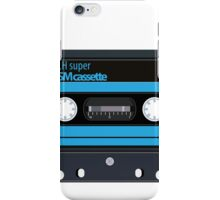 Cassette - vintage audio tapes iPhone Case/Skin