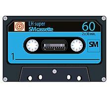 Cassette - vintage audio tapes Photographic Print