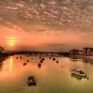 Adur Sunset by Stephen Frost