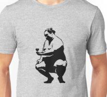 Sitting sumo in love Unisex T-Shirt