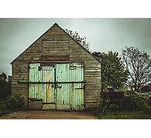 The shed  Photographic Print