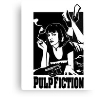 -MOVIES- Pulp Fiction COVER Canvas Print