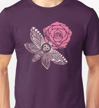 Night butterfly illustration Unisex T-Shirt