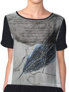the quill Chiffon Top